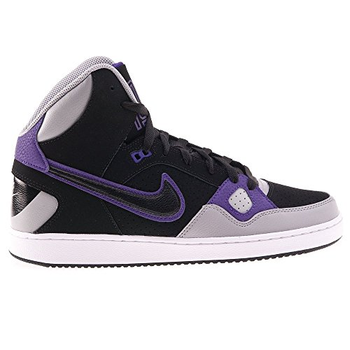 Nike - Son OF Force Mid - 616281002 - Color: Gris-Negro-Violeta - Size: 45.5
