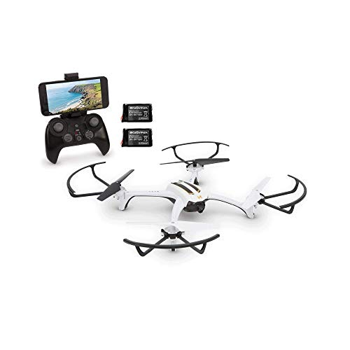 Sky Viper Journey Pro GPS Live Streaming Video Recording Drone and 2 Batteries