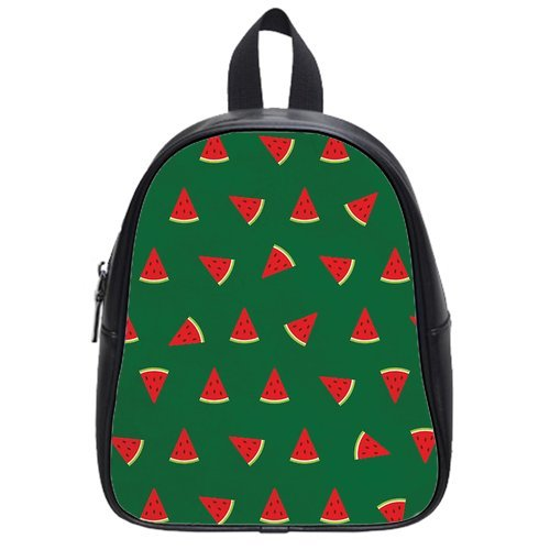 Lovely and Light weight Watermelon Kid's School Bag Fruit PU leather Backpack