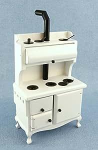 Muebles De Cocina Miniatura Casa De Muñecas Estilo Antiguo Victoriano Cocina Estufa WH