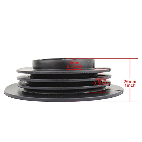TOMALL Seal Dustproof PVC Cover for LED Headlight Conversion Kit 38mm Hole Diameter
