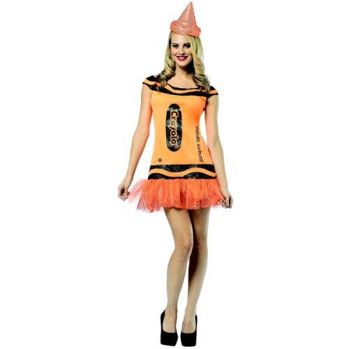 Rasta Imposta Crayola Glitz And Glitter Tank Dress, Metallic Sunburst, Adult 4-10