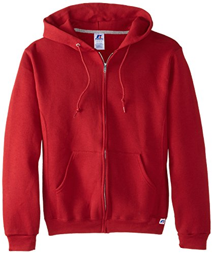Russell Athletic Hooded Zip Front Sweatshirt