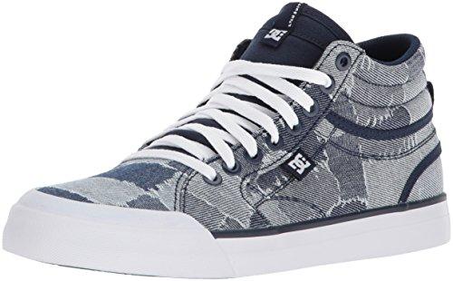 Blue TX Femme DC White Le Blue DCADJS300199 Evan Shoes Hi awW1xU0qCP