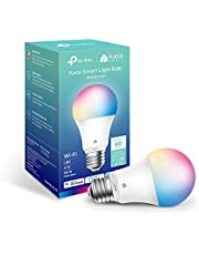 New Kasa Smart Bulb, Full Color Changing Dimmable Smart WiFi Light Bulb Compatible with Alexa and Google Home, A19, 9W 800 Lumens,2.4Ghz only, No Hub Required, 1-Pack (KL125), Multicolor…