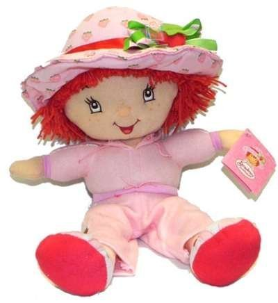38,1 cm rosa Strawberry Shortcake Plush Doll – Strawberry Shortcake Plush
