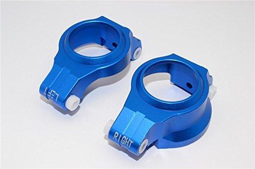 Traxxas X-Maxx 4X4 Tuning Teile Aluminium Front C Hubs - 1Pr Blau