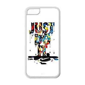 phone covers SUUER Fashion Just Do It Unique Personalized Custom Hard CASE for iPhone 5c Durable Case Cover