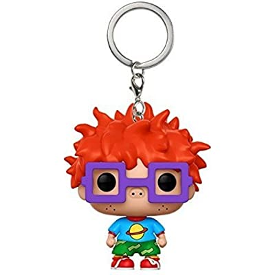 Funko Pop Keychain Rugrats Chuckie Action Figure: Funko Pop! Keychain:: Toys & Games