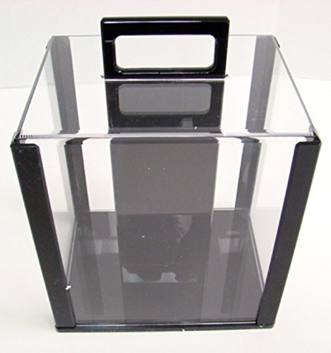 Deluxe Acrylic Casino Quality Poker Chip Carrier - 1000 Chip Capacity! by TMG