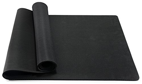 bestshared Professional Yoga Mat 100% Natural Rubber, 72″ L x 24″ W Review