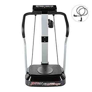 Pinty 2000W Whole Body Vibration Platform Exercise Machine with MP3 Player (99 Speed Levels Vibration Platform)