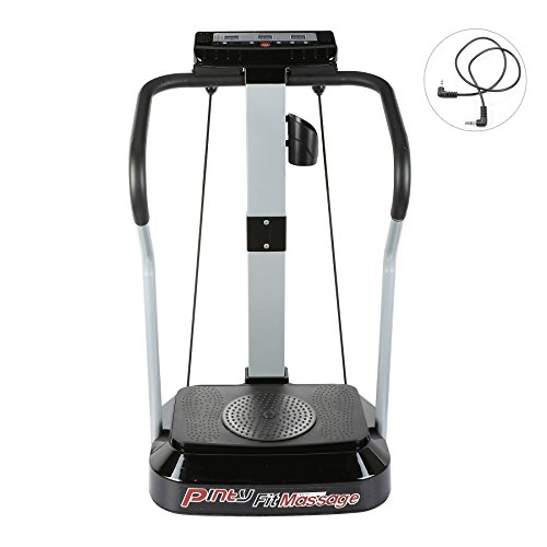 Pinty 2000W Whole Body Vibration Platform Exercise Machine with MP3 Player (99 Speed Levels)