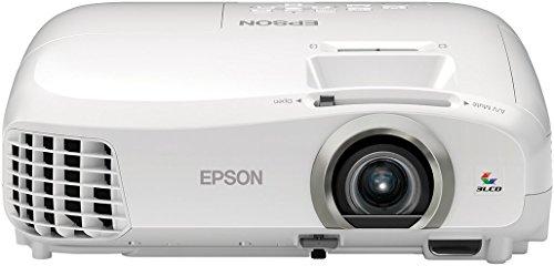 Epson EH-TW5300 3D 3LCD-Projektor (Full HD 1920 x 1080 Pixel, Frame Interpolation, 2.200 Lumen Weiß & Farbhelligkeit, 35.000:1 Kontrast, 2x HDMI, Lampenlebensdauer bis zu 7.500 h im Sparmodus) weiß