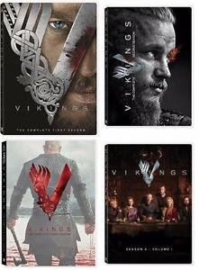 Vikings: Complete Collection - Seasons 1 through 4 (Volume ()