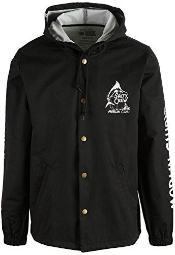 Salty Crew Marlin Club Snap Jacket Mens