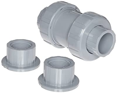 "Hayward CPVC Check Valve, Control Check, EPDM Seal, 1/2"" Socket/Threaded from Hayward"