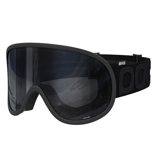 POC Cornea All Black Ski Goggles, Uranium Black, One Size by POC