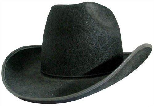 ADULT Cowboy Western Cow Hand Gunman Hat Stetson Fancy Dress Costume HAT by (Western Gunman Costumes)