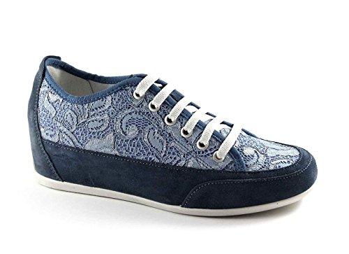 IGI & CO 77872 vaqueros calzado deportivo zapatillas de deporte cordones cordón zeppetta Blu