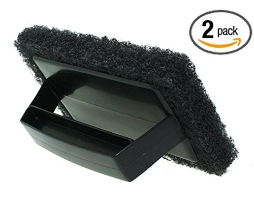 (BBQ grill grate cleaner Grill brush Scrapers Grid Scrub PACK of 2)