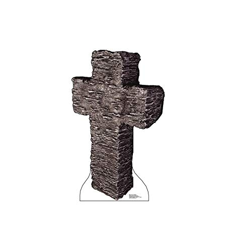 Advanced Graphics Cross Tombstone Life Size Cardboard Cutout Standup -