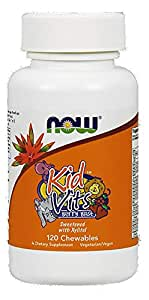 Now Kid Vitamins Chewable Berry Blast Tablets - 120 Tablets