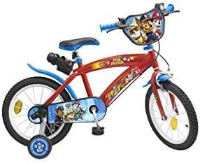 PIK and Roll Bici 16 LA PATROUILLA Canina Rojo 5-8 Anos: Amazon.es: Deportes y aire libre
