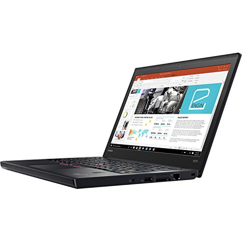 2017 Newest Lenovo ThinkPad X270 12.5 Inch Anti-Glare FHD IPS (1920x1080) Premium Flagship Laptop (Intel Core i7-7500U 2.7GHz, 8GB DDR4 RAM, 500GB SDD, Intel HD Graphics 620, WiFi, Windows 10) Black