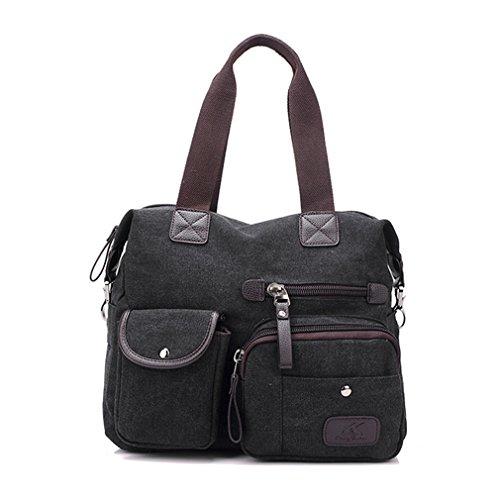 G&T Fashion Tide Retro Leisure Womens Bag Shoulder Bag Handbag Cross-body Canvas Bag(C4)