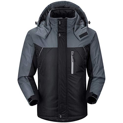 Men's Down Alternative Jacket Mountain Thicken Lined Fur Hooded Long Parka Padded Coat Overcoat Outwear Overcoats Outwears
