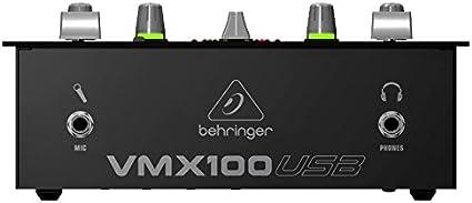 Behringer - Mesa De Mezclas Vmx100Usb: Amazon.es: Electrónica