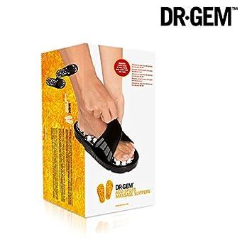31fe79666ada Dr Gem Acu Spots Foot Reflexology Massage Slippers - 82 Acupressure Points  - Medium - (
