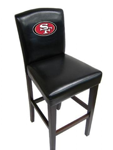 Imperial 741005 NFL San Francisco 49Ers Counter & Pub Chair44; Set Of 2 by Imperial