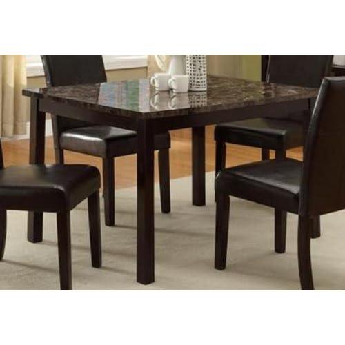 Marble Kitchen Table: Amazon.com