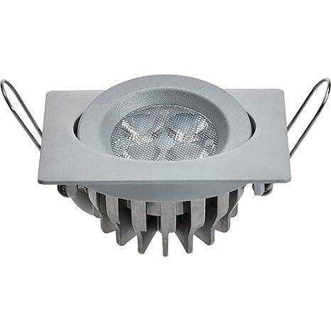 Guli TD16 Cibeles LED con Driver incluido 6000K, 7W, Plata, 82 x 82 x 36 mm.: Amazon.es: Bricolaje y herramientas