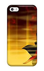 NgOCztW10498BgFwV Tpu Phone Case With Fashionable Look For Iphone 5/5s - Eyeshield 21 And Blinds