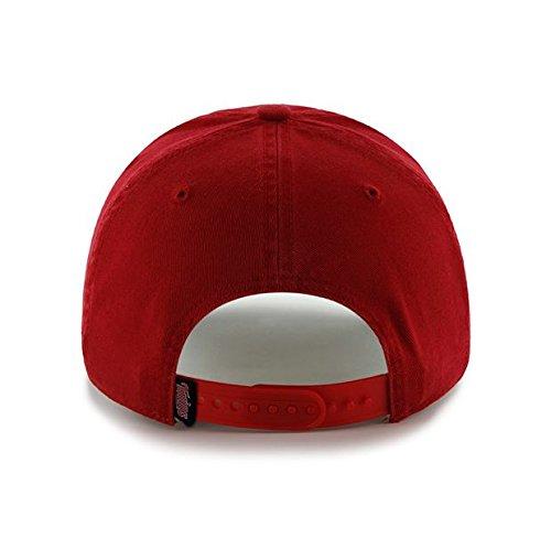 sports shoes 3c7b0 6e616 Mlb Minnesota Twins Hat Modesto 47 Brand Cap Clean Up, Adjustable, Red