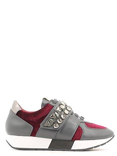 LIU JO SHOES Damen - Sneaker S66007-P0169 - nero ASPHALT/RED WINE