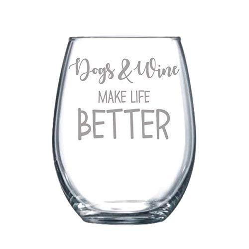 Dogs & Wine Make Life Better Review