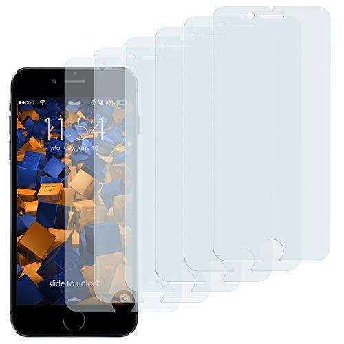 mumbi 3D Touch Schutzfolie iPhone 6 6s Folie Displayschutzfolie (6er Set)