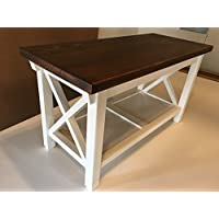 Hallway/Mud Room/Foyer Bench 36 Increased 16 Width X Style Design In Your Choice Of Color