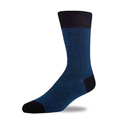 Stor Herrensocken Bambus Antibakteriell Socken Atmungsaktive Socken Aktive Antimykotikum Fester Muster Vieler Farben