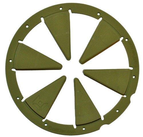 Exalt Paintball Rotor Feedgate - Olive by Exalt