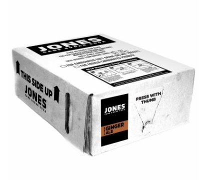 Jones Soda Bag-in-Box Fountain Syrup, Ginger Ale Flavor (3 gal.) by JS