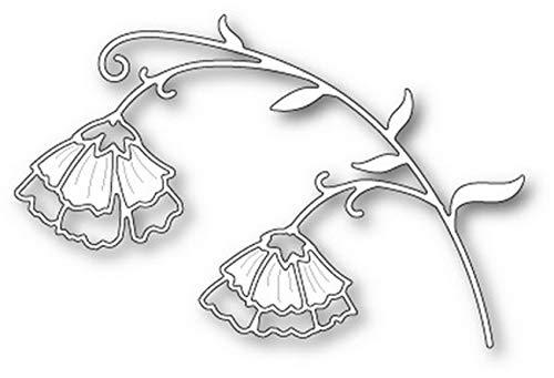 (Poppystamps - Dies - Sweet Pea Flowers (1833))