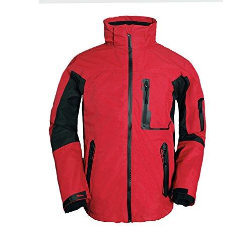 Red Women Zipper Men Collar Sleeves Coat Jacket Outdoor JACKETS Waterproof DYF FYM Long aSxq7ZZ