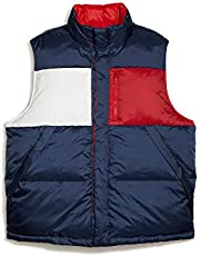 Tommy Hilfiger Men's Adaptive Reversible Vest with Magnetic Buttons, Blue Iolite-PT