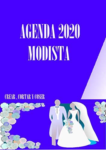 Agenda para Modista 2020: Agenda, organizador y planificador ...