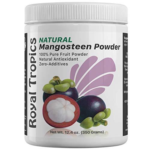 Mangosteen Powder, Antioxidant Supplement, Anti Inflammatory, Anti Bacteria, 350 Grams, 12.4 oz